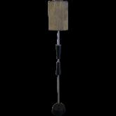 Торшер FL3005 венге/абажур 1х40W E27 FBR15